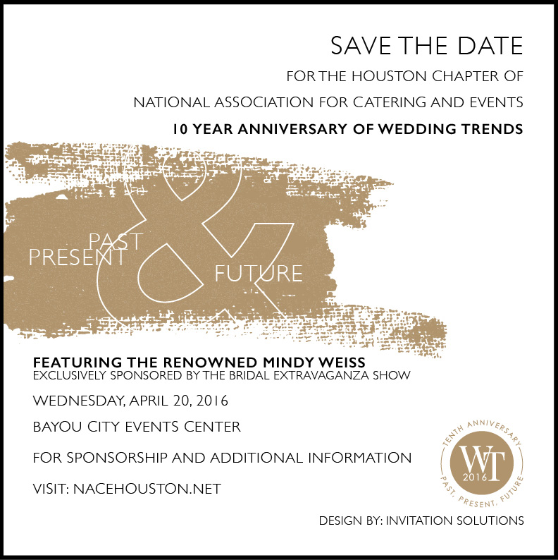 Save the Date - Wedding Trends 2016